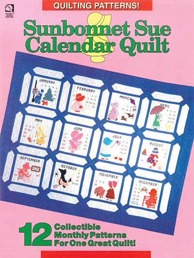 Sunbonnet Sue Calendar Quilt Custom Sunbonnet Sue Patterns