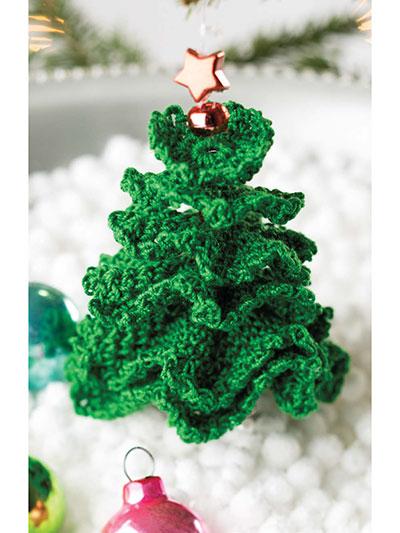 little christmas tree ornament crochet pattern. Black Bedroom Furniture Sets. Home Design Ideas