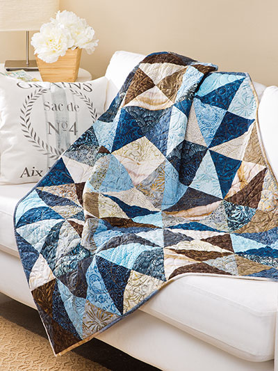 EXCLUSIVELY ANNIE S Broken Crackers Quilt Pattern
