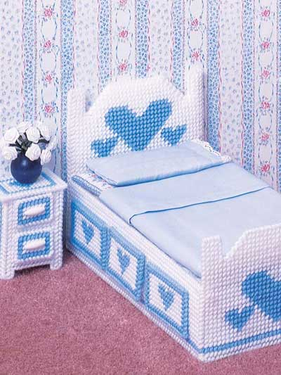 Plastic Canvas Doll Furniture Patterns Little Sister Bedroom