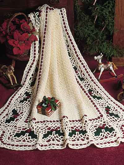 CHRISTMAS CROCHET AFGHAN PATTERNS Crochet Patterns
