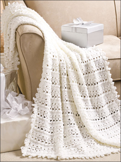 Crochet Quick Easy Patterns Afghans Throws Wedding Afghan