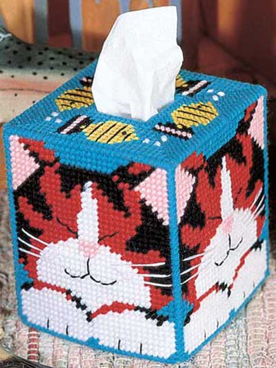 Plastic Canvas Quick Amp Easy Patterns Dreaming Cat